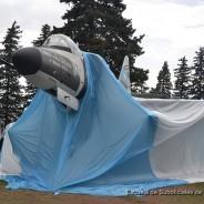 Inauguración Monumento Cenotafio A-4C Skyhawk