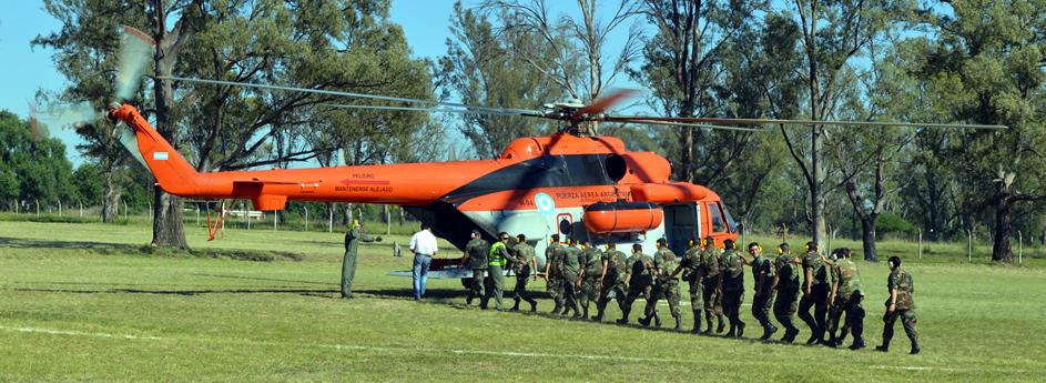 Vuelo de Familiarización en Helicoptero MI-17E