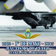 Video Bautismo de Fuego de la Fuerza Aérea Argentina 2015
