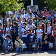 Visita de la Banda Infanto Juvenil de la Localidad de Justiniano Posse
