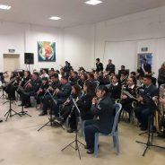 Concierto de la Banda de Música de la ESFA en la ciudad de Pozo del Molle