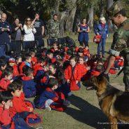 Visita a la Sección Perros de Guerra de la ESFA