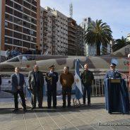 Inauguración de la exposición del Avión Mirage