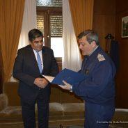 Visita Del Vicegobernador de Tierra Del Fuego a la ESFA