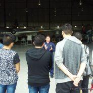 """Visita de la Escuela Industrial Nº6 """"X Brigada Aérea"""""""