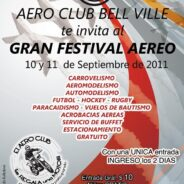 Festival Aéreo 2011 en el Aeroclub Bell Ville