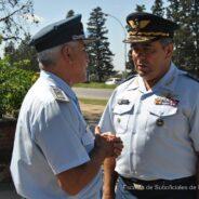 Visita del Comandante de Personal de la Fuerza Aérea Uruguaya