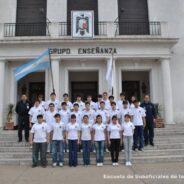 """Visita Escuela Industrial Nº 6 """"X Brigada Aérea"""", Río Gallegos"""