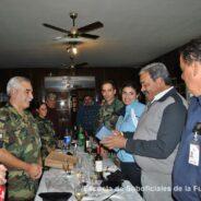 Reconocimiento al Suboficial Mayor Julio César Luján –Mecánico de Aeronaves-