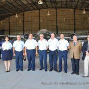 Visita del Comandante del Comando Aéreo de Personal de la Fuerza Aérea Uruguaya