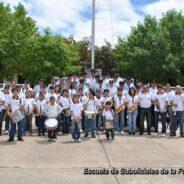 Visita de Escuela de Banda de Música