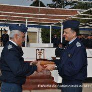 Puesta en Funciones del Subdirector de la Escuela de Suboficiales de la Fuerza Aérea