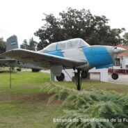 Puesta en Monumento del Mentor B-45 E-076