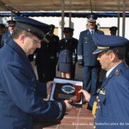 Visita del Suboficial Maestre del Comando de la Fuerza Aérea Boliviana