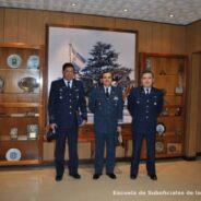 Visita de Oficiales de la Fuerza Aérea Chilena